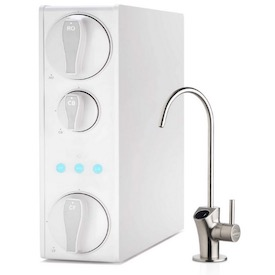 Tankless 600 GPD High Flow USA Tech Support Reduce TDS 1.5:1 Low Drain Ratio Frizzlife RO Reverse Osmosis Water Filtration System PD600 Compact